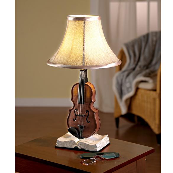 """Tischlampe """"Geige"""""""