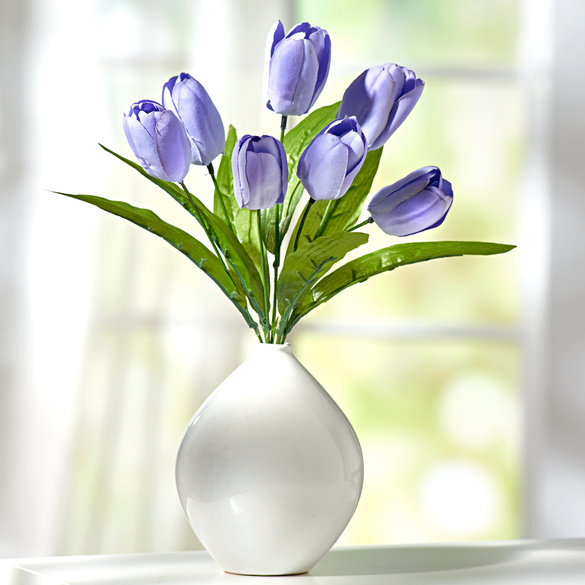 Tulpenstrauß lila
