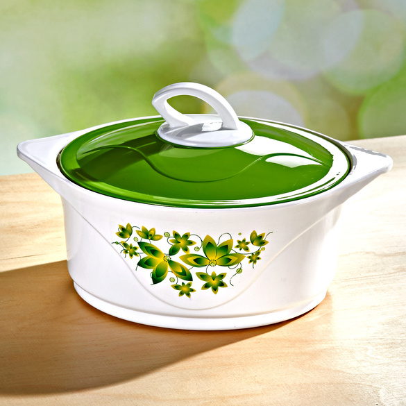 Thermoschüssel grün, 1300 ml