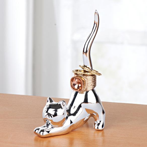 """Ringhalter """"Katze"""""""