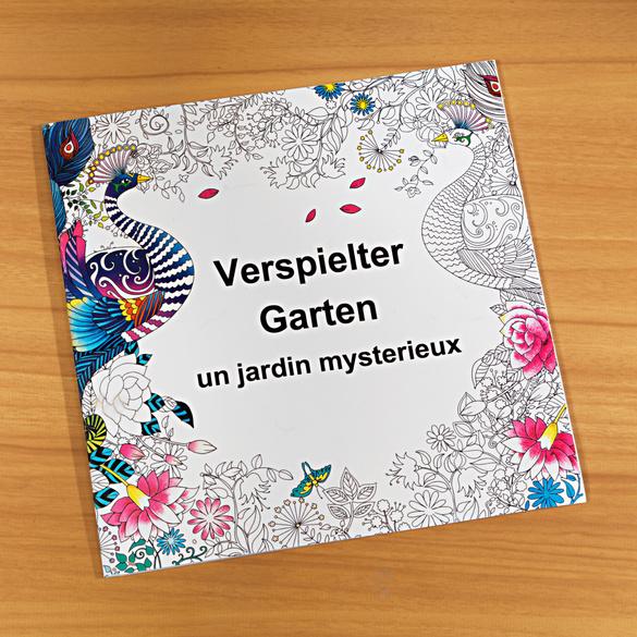 """Malbuch """"Verspielter Garten"""""""