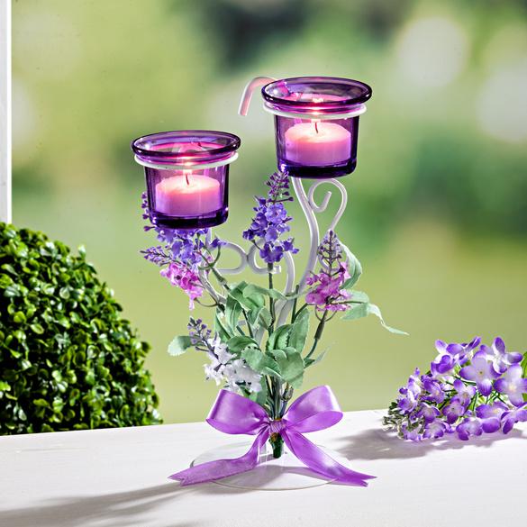 """Teelichthalter """"Lavendel"""""""