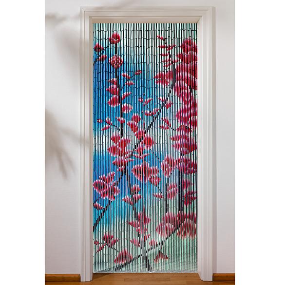 "Bambusvorhang ""Blüten"""