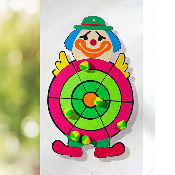 """Wurfspiel """"Clown"""", 7 Teile"""