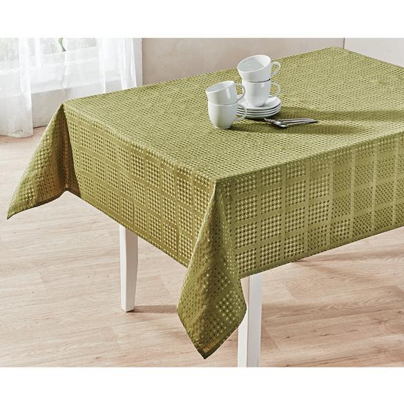 Tischdecke grün, 130 x 160 cm