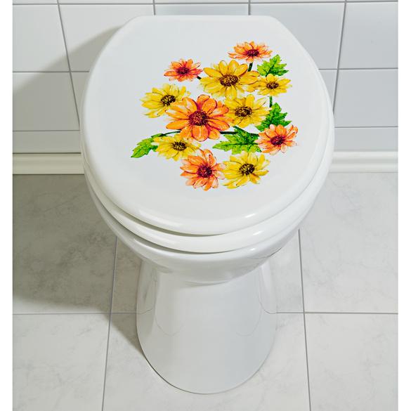 "WC-Aufkleber ""Sonnenblumen"""