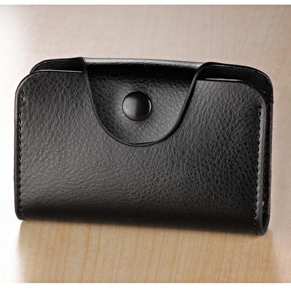 Kartenbörse schwarz