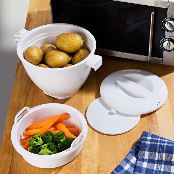 "Mikrowellen-Universalkocher ""Magic Meal"", 5-tlg."