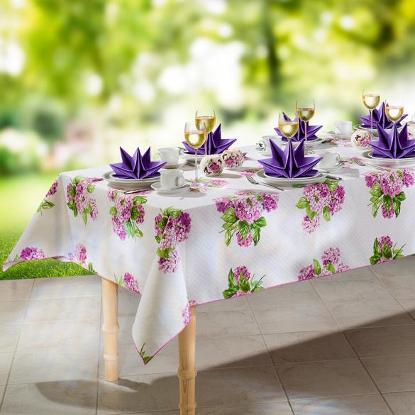 12 vorgefaltete Servietten, lila