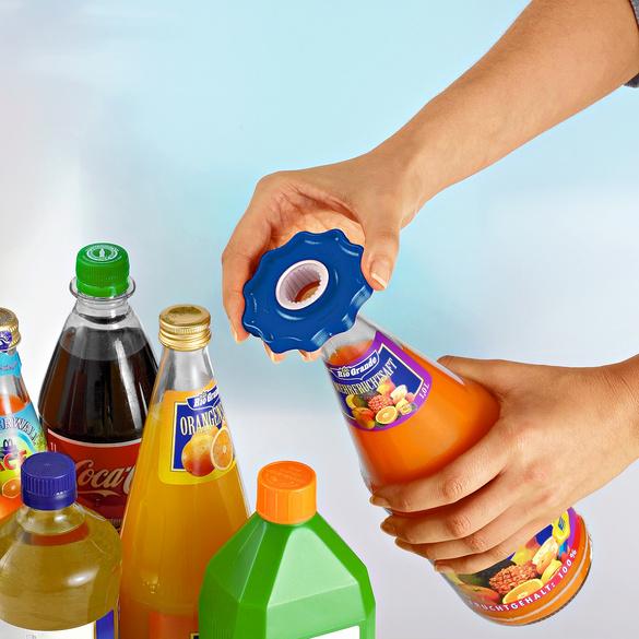 Flaschen-Kraftöffner blau