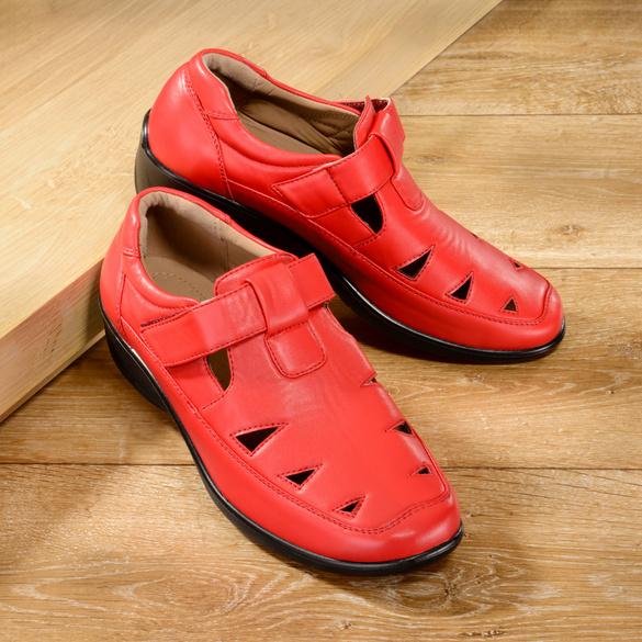 "Schuh ""Leni"" rot"