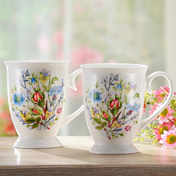 """Kaffeebecher """"Wiesenblumen"""""""