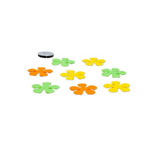 """Anti-Rutsch-Pads """"Blumen"""", 8er-Set"""