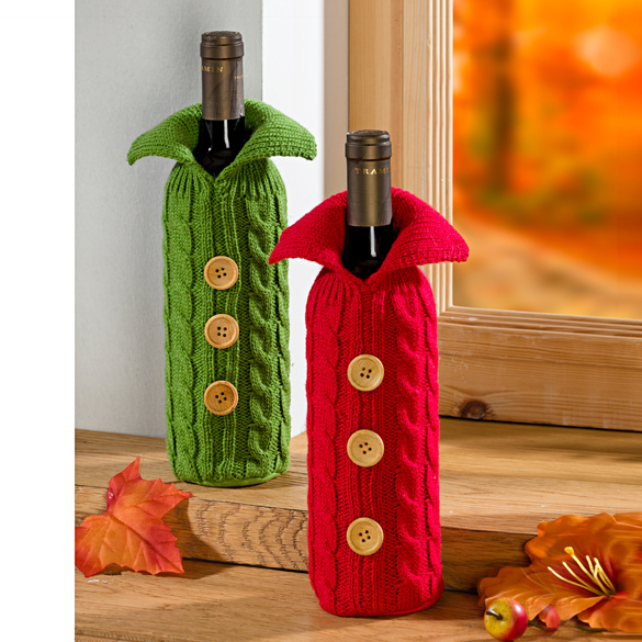 Flaschenüberzug rot