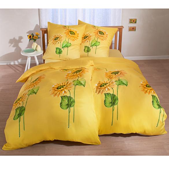 """Bettwäsche """"Sonnenblumen"""", 2-tlg."""