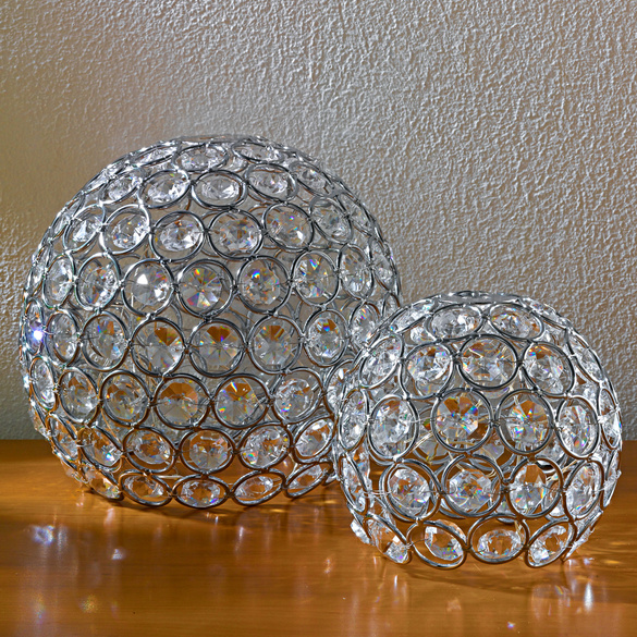 "LED-Kugel ""Diamant"", Ø 15 cm"