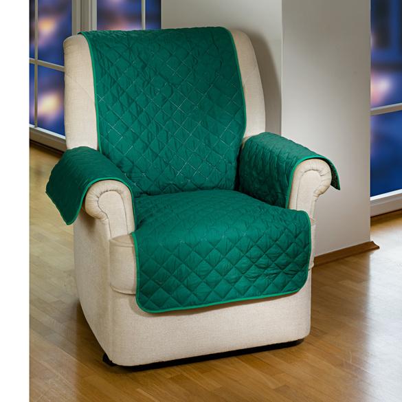 Sesselüberwurf grün