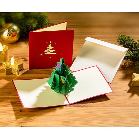 """3D-Weihnachtskarte """"Tannenbaum"""""""