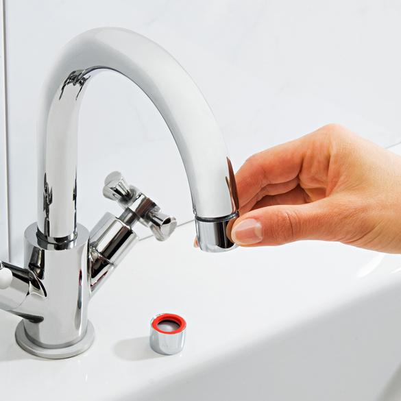 Armaturen-Wasser-Sparset, 11-tlg.