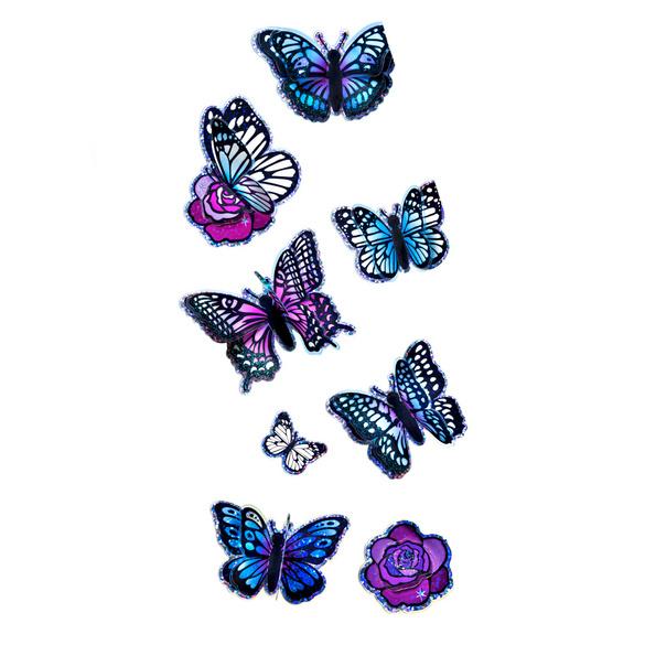 "Sticker ""Schmetterlinge"", 8er-Set"