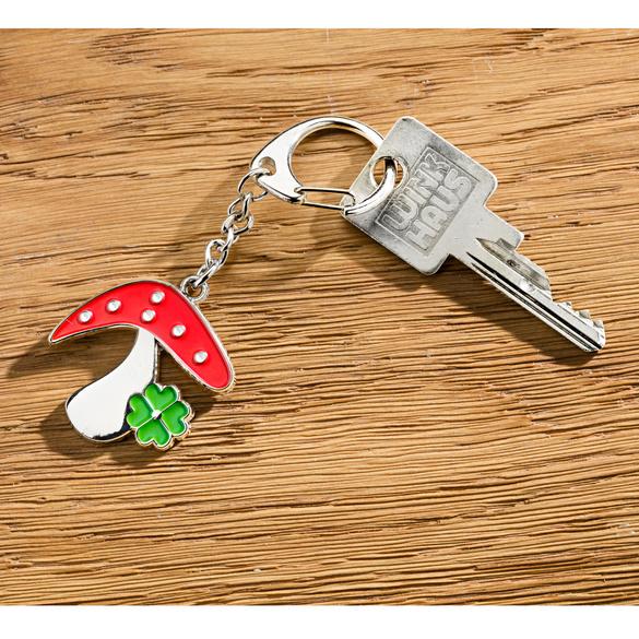 "Schlüsselanhänger ""Glückspilz"""