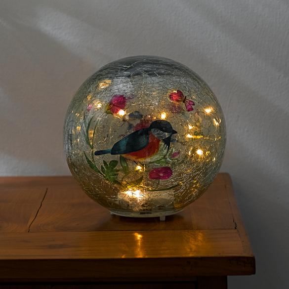 """LED-Kugel """"Vögelchen"""""""