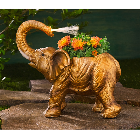 Solar-Pflanz-Elefant