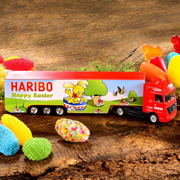 HARIBO-Truck + Süßwaren