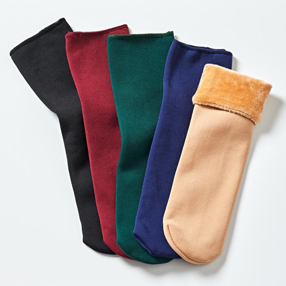 Thermo-Socken 5 Farben, 5 Paar
