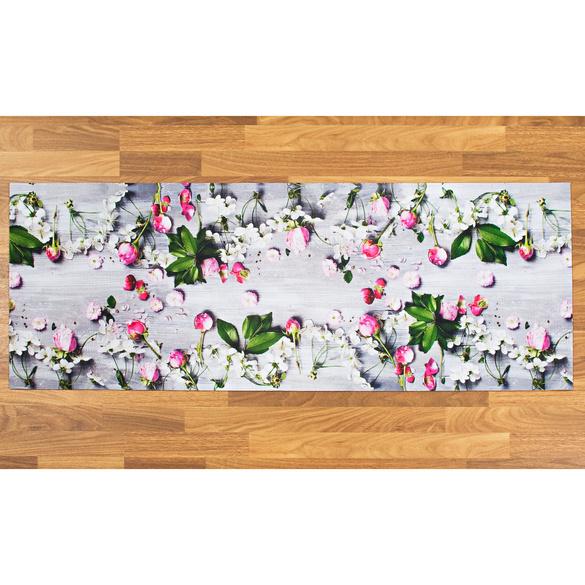 """Küchenteppich """"Pfingstrosen"""", 52 x 140 cm"""