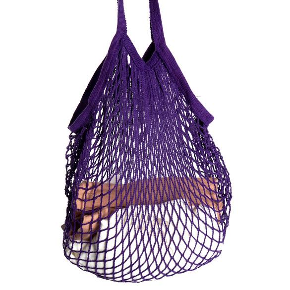 Einkaufsnetz lila