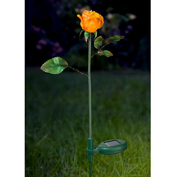 """Solarleuchte """"Rose"""", gelb"""
