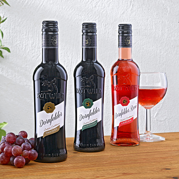 Dornfelder Wein-Set, 3-teilig