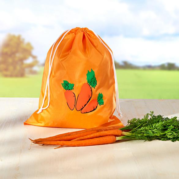 """Frischebeutel """"Möhren"""" orange"""