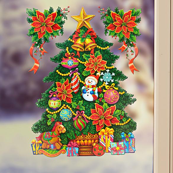 """Fensterbild """"Weihnachtsbaum"""""""