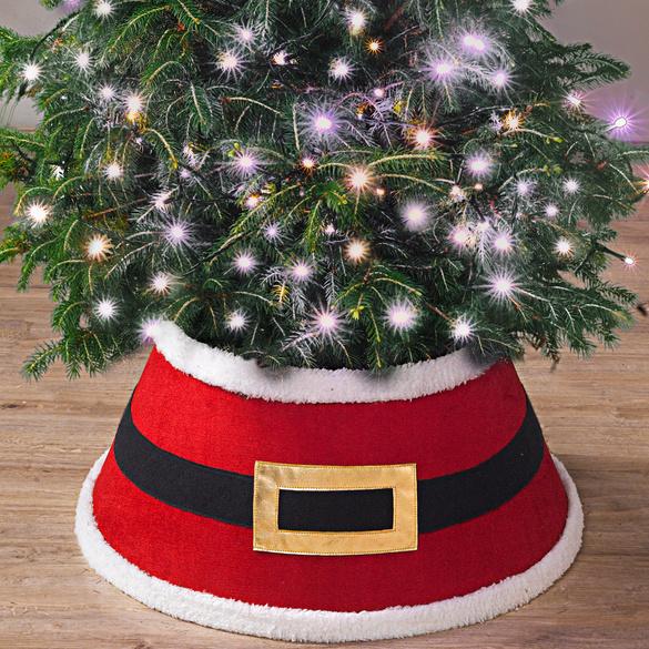 """Baumdecke """"Weihnachtsmannhose"""""""