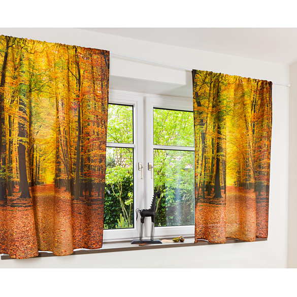 """Vorhang """"Herbsttag"""""""