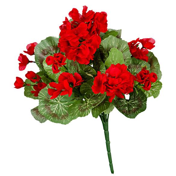 Geranien-Bouquet rot