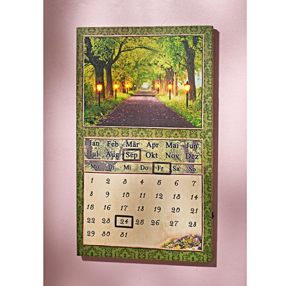 """LED-Kalender """"Waldallee"""""""