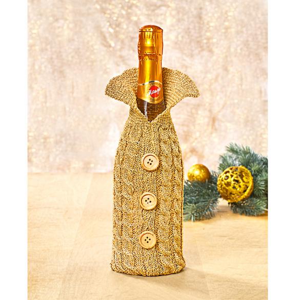 Flaschenüberzug gold
