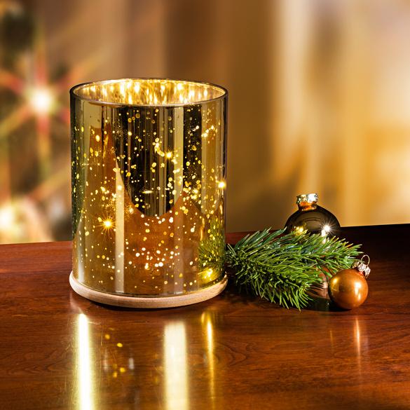 LED Glas-Leuchte