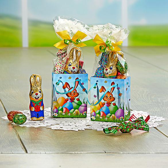 Ostertüten gefüllt, 2er-Set