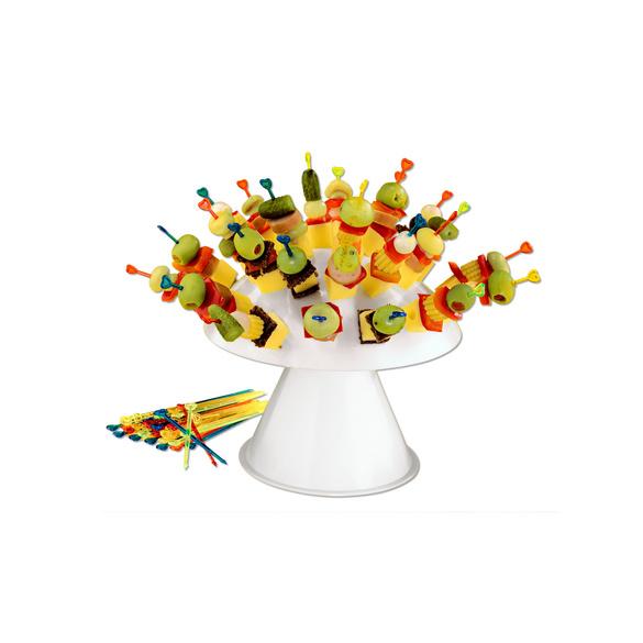 Party-Pilz mit 32 Spießen