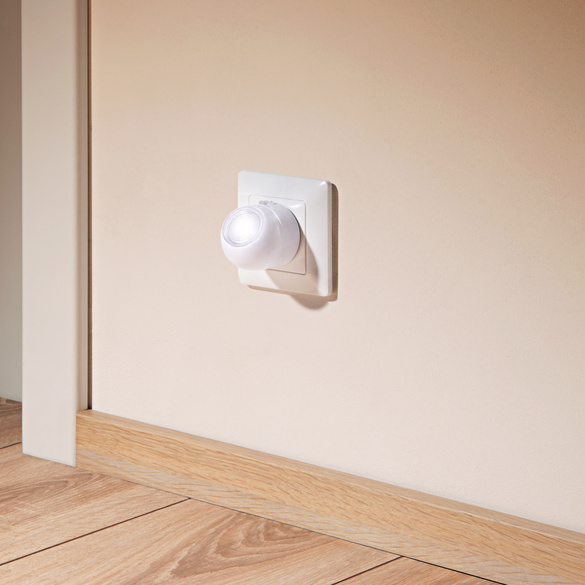 LED-Nachtlicht mit Dämmerungssensor