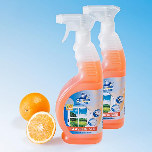 """Glasreiniger """"Orange"""", 2er-Set"""