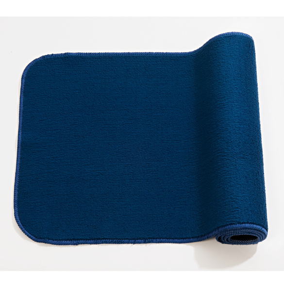 Küchenteppich marine blau, 50 x 90 cm