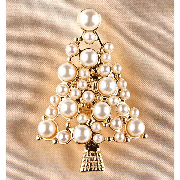 """Magnetbrosche """"Weihnachtsbaum"""""""