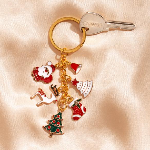 """Schlüsselring """"Weihnachtszeit"""""""
