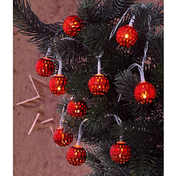 LED-Lichterkette rot