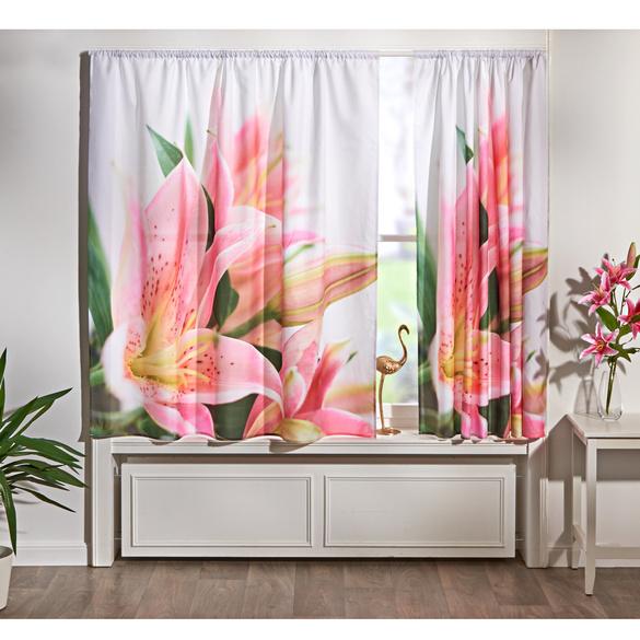 """Vorhang """"Lilien"""""""